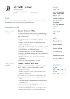 Bartender Resume Sample Template Example Free Download Cv