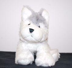 Ganz Webkinz Husky Dog Stuffed Animal Plush Puppy Kids Toy #GANZ