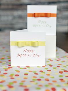 Make a Ribbon-Embellished Mother's Day Card : Holidays and Entertaining : Home & Garden Television