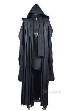 Star Wars Darth Maul Tunic Robe Uniform Cosplay Costume Linen Version