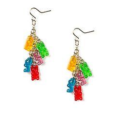 Gummy Bears Drop Earrings claires