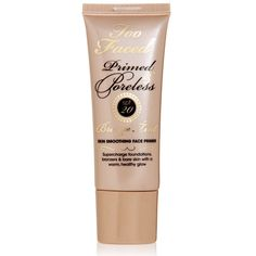 A bronze tint version of our best-selling face primer, Primed & Poreless. Formulated to prime and enhance all skin tones, our innovative priming product imparts a warm glow while providing optimum sun protection with SPF 20. The silky formula banishes complexion imperfections as it leaves skin virtually poreless. Sun-safety first!