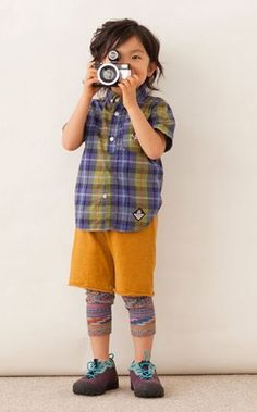 10 Persons, 10 colors - Japanese Children's Fashion Series | Blog and Post