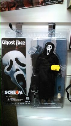 Retro Scream action figure.