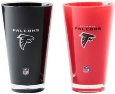 NFL Atlanta Falcons 20-Ounce Insulated Tumbler 2 Pack Super Bowl Cup Sports #DuckHouse