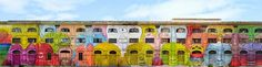 One Million Photo: Street art - Blu