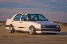Mk2 jetta, aero ecode, big bumper conversion.