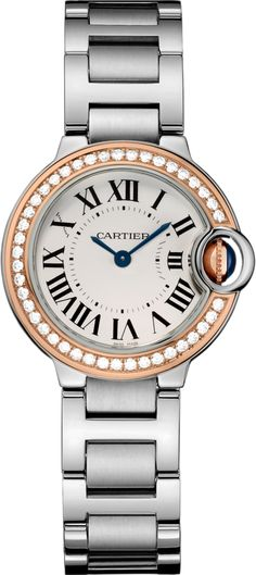 #Cartier Ballon Bleu De Cartier Pink (Rose) Gold #Watch