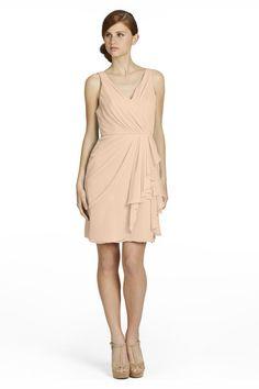 Jim Hjelm 5375 Chiffon Bridesmaid Dress | Weddington Way