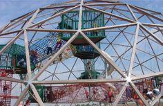 PlayWorld Dome, Arc2 Architecture, Bristol UK, 2002 | Playscapes