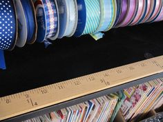 Sew Many Ways...: Tool Time Tuesday...Ribbon Organizer