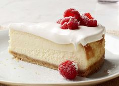 Perfection - Vanilla Mousse Cheesecake.