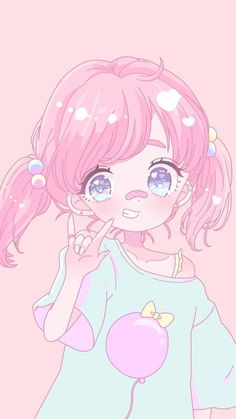 Kawaii anime drawings - see more about kawaii anime drawings Loli Kawaii, Kawaii Chibi, Kawaii Anime Girl, Kawaii Art, Anime Art Girl, Anime Girls, Pastel Anime, Pastel Art, Anime Chibi