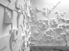 Sculpted Shadows Turn a Gallery into a Walk-In Illusion | The Creators Project