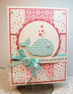 SSSC176.....Oh Whale by justcrazy - Cards and Paper Crafts at Splitcoaststampers