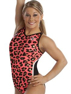 Shawn Johnson V-Neck Leotard from GK Elite