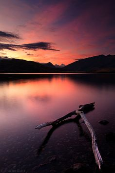 Lake Wanaka, New Zealand...