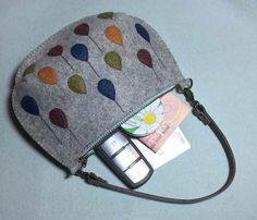 Photo Tutorial: How to Make Bag Felt. DIY step-by-step.