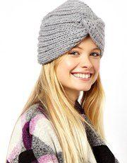 ASOS Knitted Turban Hat