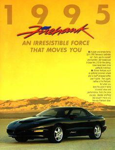1995 Firehawk Ad
