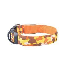 Luminous Nylon Dog or Cat Collar Night Safety LED
