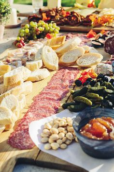 In my opinion, there's nothing tastier than a well-constructed appetizer board—whether it's charcuterie, artisanal cheese, or antipasto. Get all my tips for building the perfect appetizer board in my new book, Celebrate. Antipasto Platter, Brunch Buffet, Cheese Platters, Appetisers, Food Presentation, Appetizer Recipes, Cheese Recipes, Food Photo, Dessert