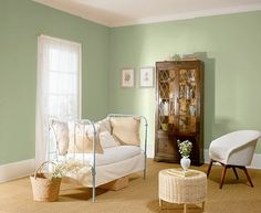 Paint color -- Behr Christopher Robin's swing
