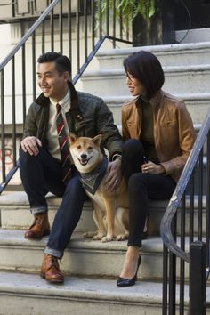 Articles of Style: Custom Menswear Made in America Menswear Dog, Dog Presents, All In The Family, Small Dog Breeds, Dog Names, Made In America, Shiba Inu, Personal Style, Mens Fashion