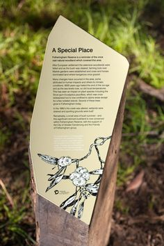 Heine Jones interpretive signage design