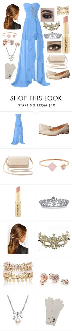 """""""masquerade ball part 6"""" by winternightfrostbite ❤ liked on Polyvore featuring Calvin Klein, Charlotte Russe, Michael Kors, Napoleon Perdis, Bling Jewelry, Rosantica, Masquerade, River Island, GUESS and MBLife.com"""