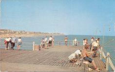 retro Ocean City, Maryland fishing pier