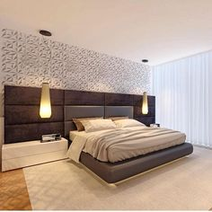 Modern Style Bedroom Design Ideas and Pictures. Browse modern bedroom decorating ideas and layouts. Discover bedroom ideas and design inspiration from a variety of minimalist bedrooms. Bedroom Closet Design, Bedroom Furniture Design, Bed Furniture Design, Modern Bedroom Decor, Bedroom Bed Design, Bedroom Design, Modern Bedroom, Luxury Bedroom Design, Modern Style Bedroom