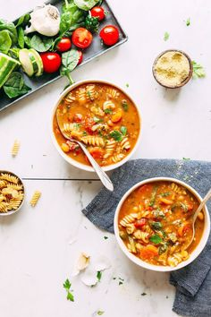 Trying to stay healthy this winter? Batch-cook one of these 16 healthy soup recipes that won't leave you hangry.