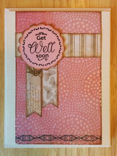 Get Well Soon with Butterflies and Sparkles by Cindysnoopy on Etsy, $3.50