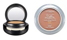 One of the best MAC foundation drugstore dupes...swap MAC Shade NC37 for L'Oreal True Match Super Blendable Blush in Soft Sun W7-8