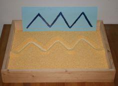 Scrittura Montessori: La lavagna di sabbia - La pappadolce » La pappadolce