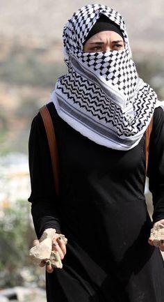 Palestine News Network ( Muslim Girls, Muslim Women, Palestine History, Palestine Art, Palestine Quotes, Beautiful Hijab, Niqab, Jerusalem, Hijab Fashion