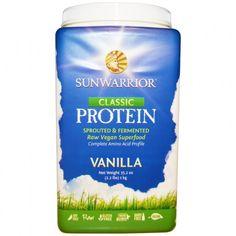 Sunwarrior classic proteine eiwitten vanille 1 kilo