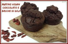 muffin cioccolato bacche goji