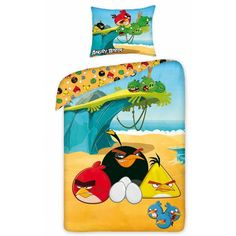 Lenjerie de pat copii Cotton Angry Birds 5005 #cameracopiilor #kidsroom #homedecor Angry Birds, Ron, Lunch Box, Cotton, Kidsroom, Home Decor, Character, Bedroom Kids, Decoration Home