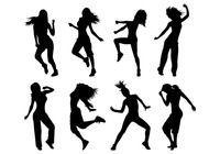 Set Of Zumba Silhouettes Giraffe Silhouette, Dance Silhouette, Silhouette Vector, Dance Vector, Vector Art, Silouette Art, Zumba Shirts, Dance Logo, Fashion Figure Drawing