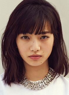 Nana Komatsu for Nylon Japan Nana Komatsu Fashion, Komatsu Nana, My Hairstyle, Hairstyles, Japan Girl, Japanese Models, Woman Face, Japan Fashion, Pretty Face