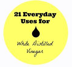 21 Uses for White Vinegar