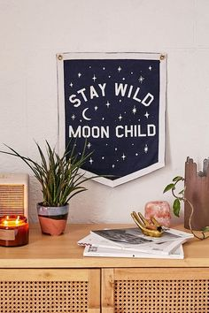 Three Potato Four Stay Wild Moon Child Banner