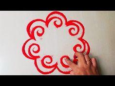 Top beautiful rangoli design जो आप भी बना लेंगे - YouTube Easy Diwali Rangoli, New Year Rangoli, Diya Rangoli, Peacock Rangoli, Indian Rangoli, Diwali Diy, Flower Rangoli, Simple Rangoli, Rangoli Designs Diwali