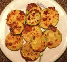 Oven-Fried Parmesan Zucchini Recipe