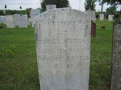 Sgt Daniel Marsh, Jr