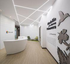 Oficinas de Microsoft Medellín.  Diseño: Arquitectura e Interiores
