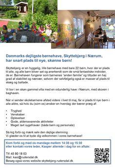 Danmarks dejligste børnehave sender snart skolebørnene videre i livet. Skal dit barn have en plads?
