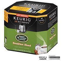 Green Mountain Coffee Breakfast Blend, K-Carafe Packs for Keurig 2.0 Brewers (24 ct.)
